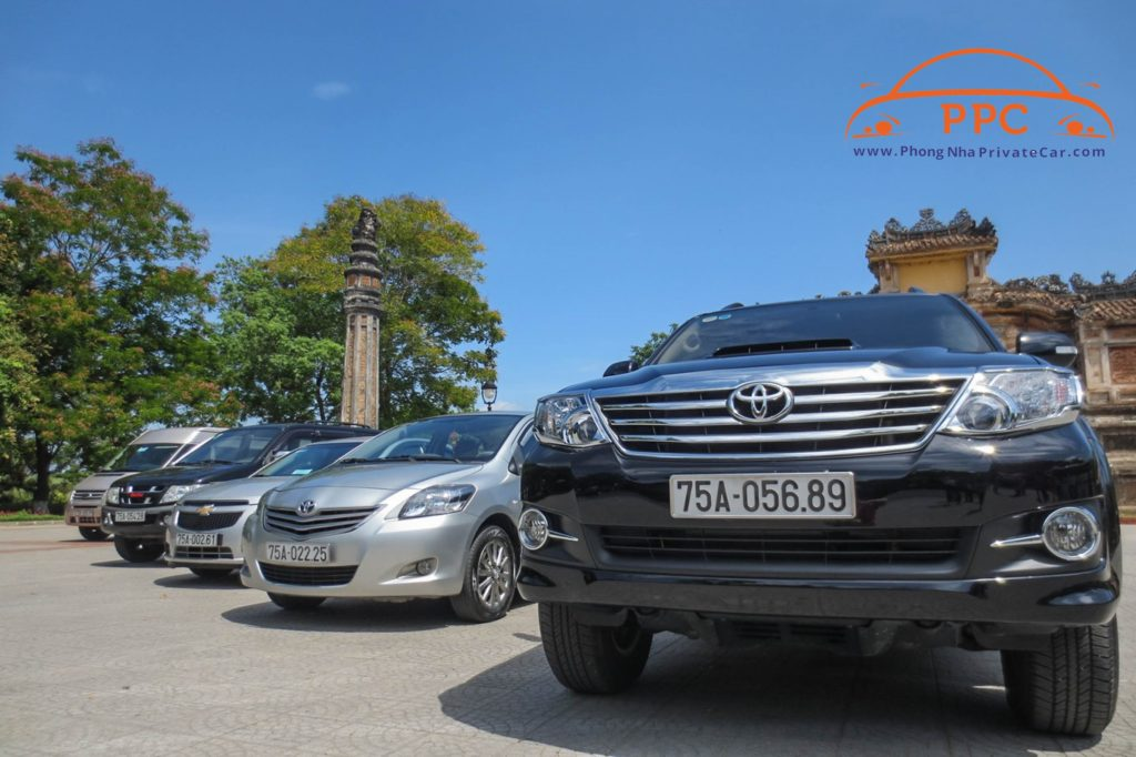 Phong Nha to Hue by private car