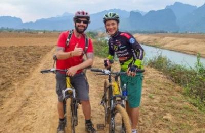 Phong Nha villages biking tour