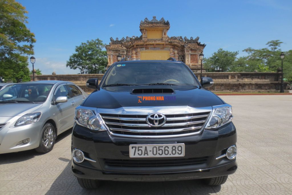 Phong Nha Private Car fleets