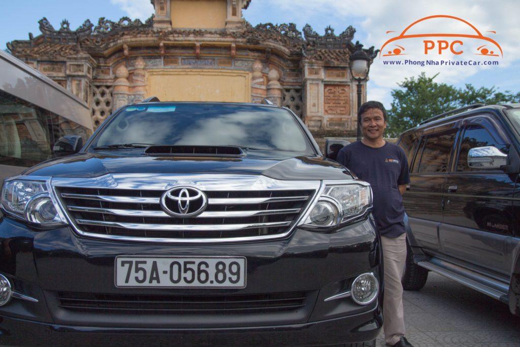 Phong Nha Private Car to Dong Hoi