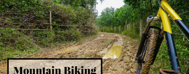 Phong Nha biking on Ho Chi Minh trails